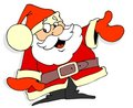Santa Claus Cartoon Royalty Free Stock Images - 3723979