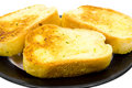 Close Up Of Garlic Bread Royalty Free Stock Images - 3724229