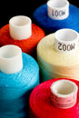 Thread Spools Royalty Free Stock Image - 3726846