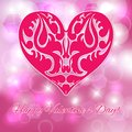 Valentine S Day. Pink Heart. Royalty Free Stock Photos - 37218678