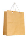 Brown Paper Bag Isolated On White Stock Images - 37220994