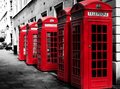 Phone Booths Royalty Free Stock Photo - 37233785