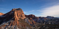 View Of Kolob Canyon In Zion Stock Photo - 37253180