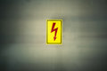 Sign Of Danger High Voltage Symbol Royalty Free Stock Photos - 37257428