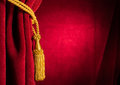 Red Theatre Curtain Royalty Free Stock Image - 37258176