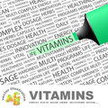 VITAMINS. Royalty Free Stock Photo - 37281965