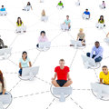 Social Networking Royalty Free Stock Photography - 37284177