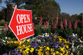 Open House Sign Stock Image - 3730981