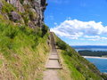 Mountain Path Royalty Free Stock Photography - 3733007