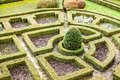 An 18th Century Formal Garden In Castle Pieskowa Skala In Poland. Royalty Free Stock Photo - 37380245
