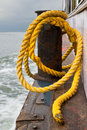 Close-up Of A Mooring Rope Royalty Free Stock Images - 37381909