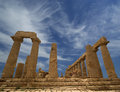 Ancient Greek Temple Of Juno, Valley Of The Temples, Agrigento, Sicily Royalty Free Stock Photo - 37391855
