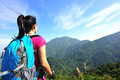 Woman Hiker Looking At The View Stock Photography - 37406732