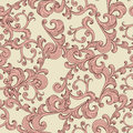 Seamless Romantic Background  Floral Ornament Stock Photography - 37410912