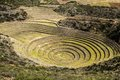 Peru, Moray, Ancient Inca Circular Terraces. Probable There Is The Incas Laboratory Of Agriculture Stock Photography - 37415882
