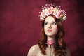 Beautiful Redhead Women Royalty Free Stock Photo - 37421575