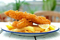 Fish And Chips Stock Photos - 37425713