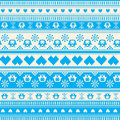 Seamless Winter Sweater Pattern With Hearts And Owls Royalty Free Stock Photo - 37431825