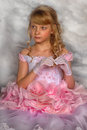 Princess In A Pink Dress Royalty Free Stock Image - 37440706