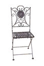 Iron Chair, Isolated Royalty Free Stock Image - 37452576
