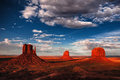 Monument Valley Sunset Royalty Free Stock Photography - 37471377