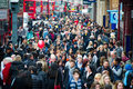 London At Rush Hour - People Going To Work Royalty Free Stock Photography - 37474117