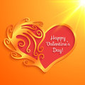Heart With Lettering Happy Valentine S Day Royalty Free Stock Images - 37483679