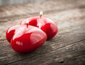 Red Candles Shining Stock Photos - 37487423