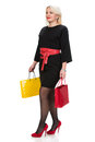 Pretty Woman With Shopping Bags Royalty Free Stock Photography - 37504547