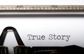True Story Royalty Free Stock Photos - 37524148