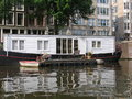 Houseboat In Amsterdam Royalty Free Stock Images - 37583469