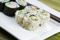 California Sushi Rolls Ready To Eat Stock Photo - 37588220