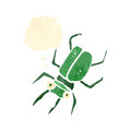 Retro Cartoon Bug Royalty Free Stock Photos - 37591178