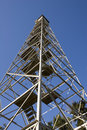 Fire Tower Angle Stock Image - 3765341