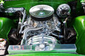 Close-up Of Car S Engine, American Classic Car Stock Photo - 37613720