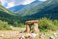 Dolmen In The Spanish Pyrenees Stock Photos - 37639963