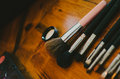 Makeup Brushes Royalty Free Stock Images - 37644889