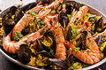 Seafood Paella Royalty Free Stock Photo - 37648315