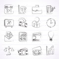 Business And Office Icons Royalty Free Stock Image - 37653726