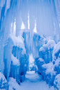 Ice Castles Icicles And Ice Formations Royalty Free Stock Image - 37690676