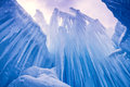 Ice Castles Icicles And Ice Formations Stock Image - 37690801