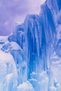 Ice Castles Icicles And Ice Formations Royalty Free Stock Photo - 37690845