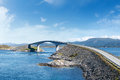 Atlantic Road In Norway Royalty Free Stock Photography - 37699197