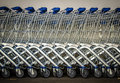 Row Of Shopping Trolleys Stock Images - 37699564