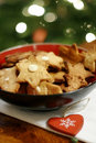 Christmas Cookies In Bowl Royalty Free Stock Photos - 3771108
