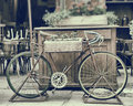 Vintage Stylized Photo Of Old Bicycle Royalty Free Stock Photography - 37711037