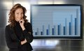 Portrait Of Successful Businesswoman Smiling Royalty Free Stock Photo - 37715405