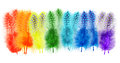 Guinea Fowl Feathers Are Painted In Bright Colors Of The Rainbow Stock Photos - 37717013
