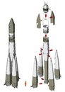 Space Rocket Infographics Royalty Free Stock Image - 37736206