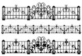 Fence And Gate Vector Royalty Free Stock Photos - 37739348